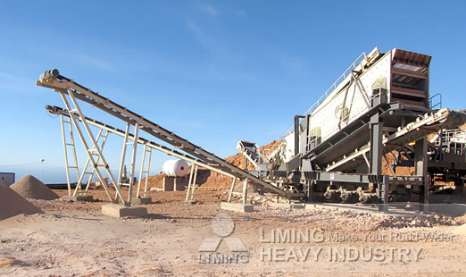 mobile crusher plant for gold concentrator Separator flotation
