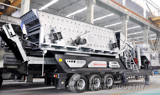mobile crusher of Liming Heavy Industry